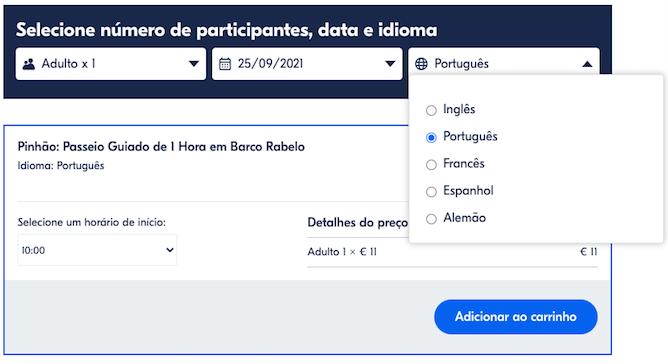 linguas audio guias cruzeiros douro pinhao