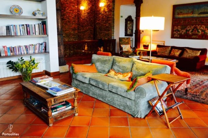 living room quinta portal best hotels douro valley