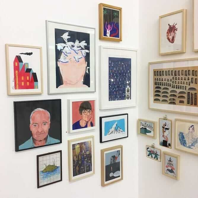 o galeria galeria design lustracao porto