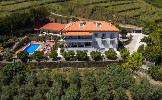 vista panoramica casa sao domingos melhores hoteis douro