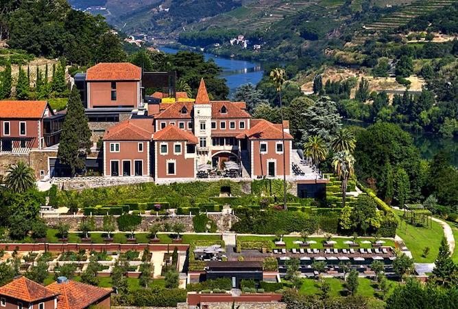 vista panoramica six senses melhores hoteis douro