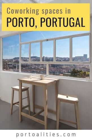 best coworking spaces porto portugal