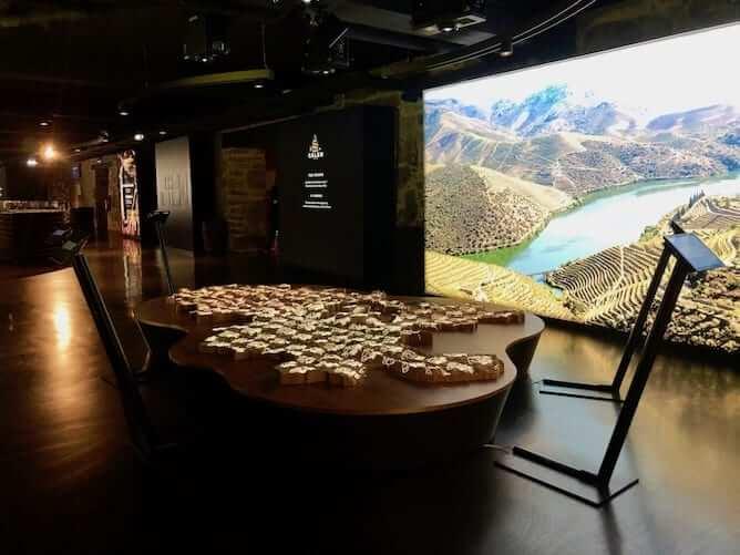calem museu interativo vinho porto