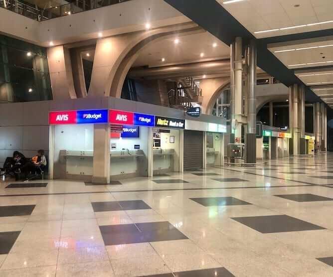 companhias aluguel carros aeroporto porto