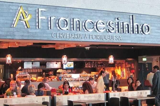 facade francesinha portuguese restaurant