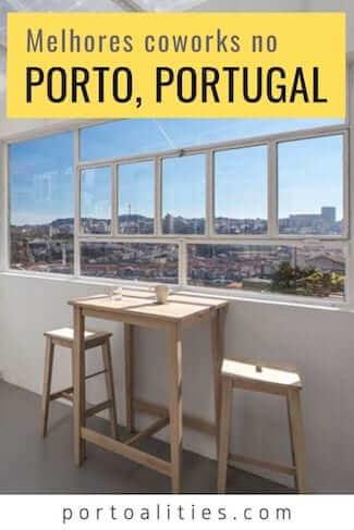 melhores cowork porto portugal