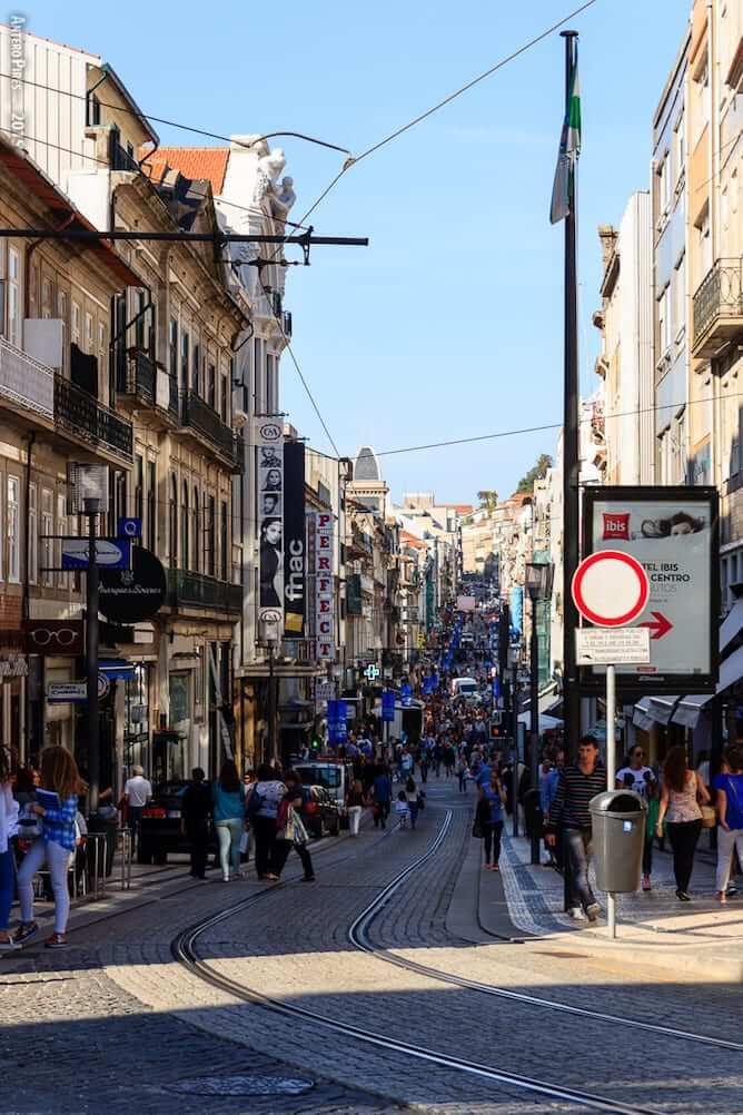 o que nao fazer no Porto rua santa catarina