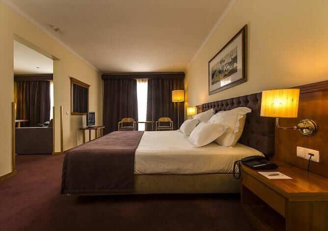 quarto duplo hotel vila gale porto