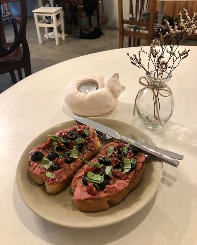 vegan toast porto gatos bonfim neighborhood