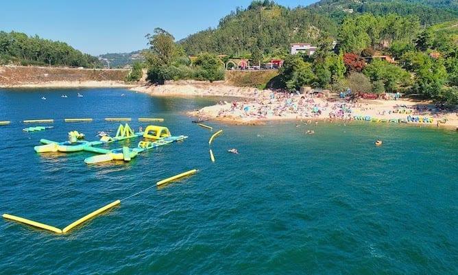 alqueirao river beach geres