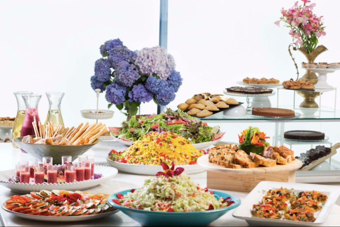 daterra vegetarian buffet porto
