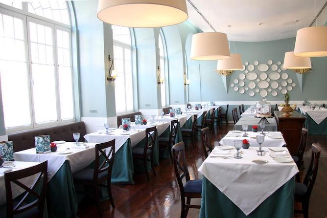 dining room aguas geres hotel spa