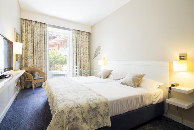 double bedroom aguas geres hotel