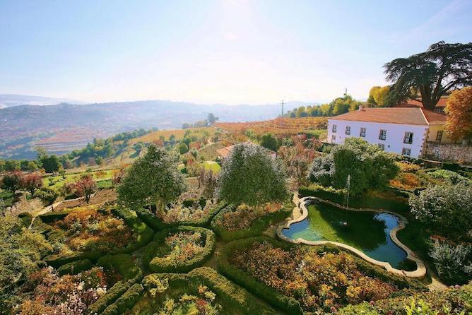 garden casa viscondes varzea best hotels douro valley