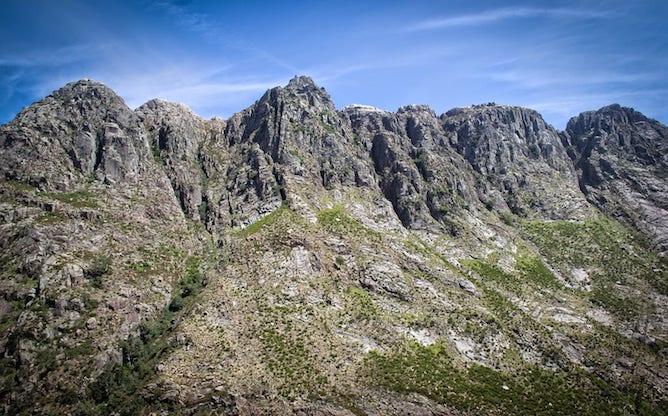 montanhas trilho vezeira fafiao