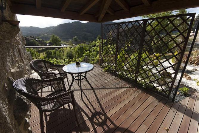 porch eco bungalow arcos valdevez