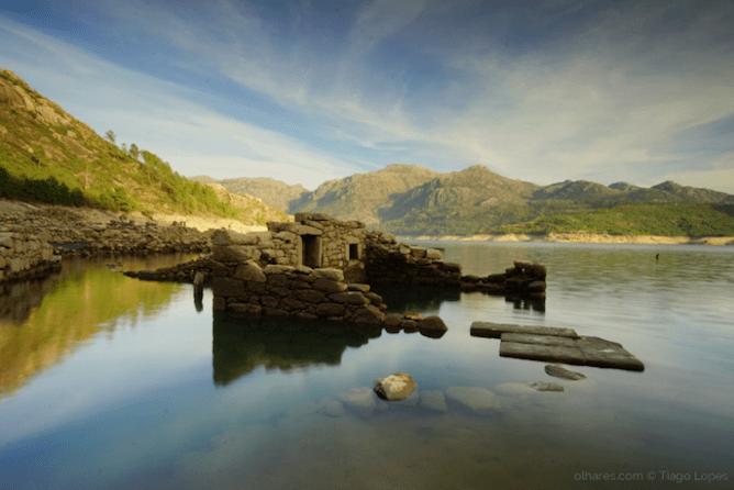 ruins river beach vilarinho furnas