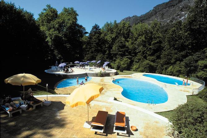 swimming pool aguas geres hotel spa