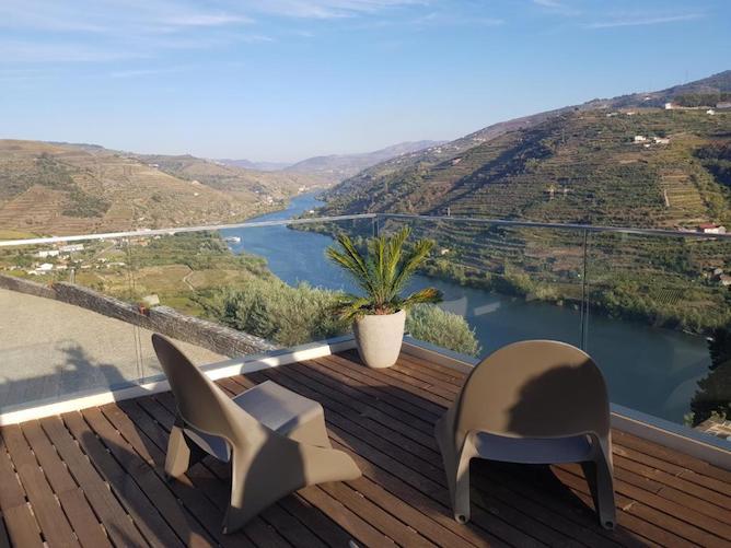 terrace overlooking douro valley