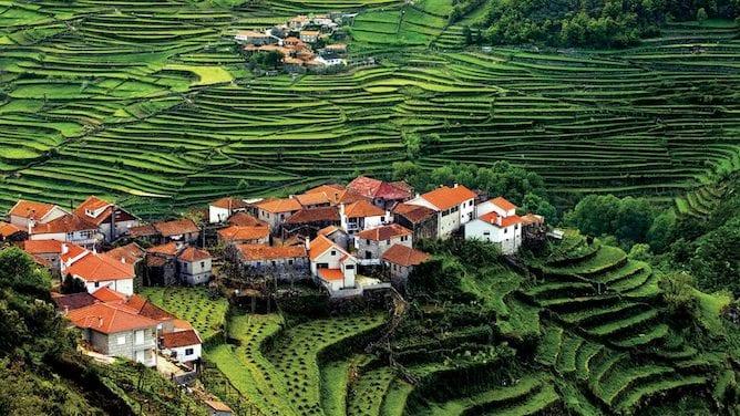 terraces sistelo geres national park