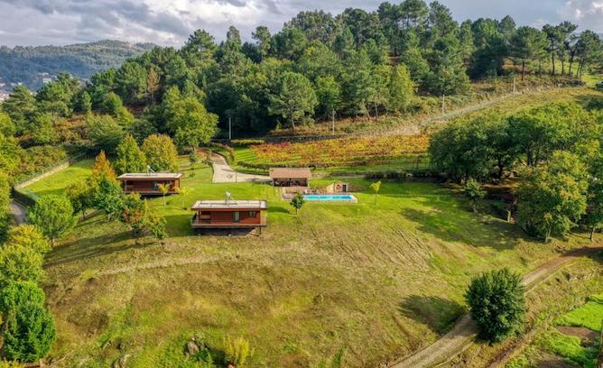 vista panoramica quinta silharezes bungalows geres