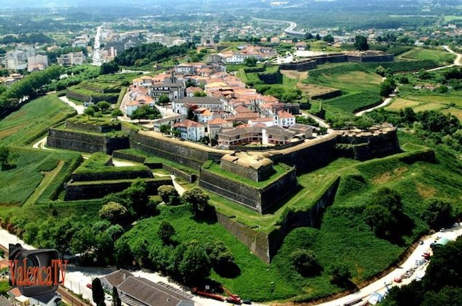 valenca fortress northern portugal