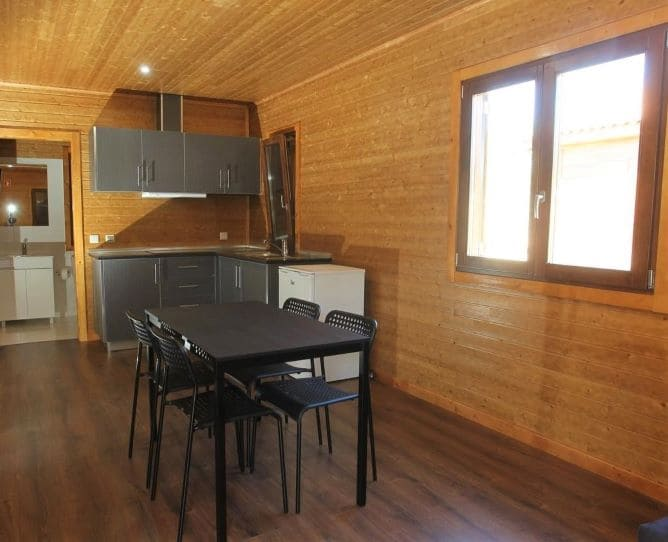 kitchen dining room douro camping