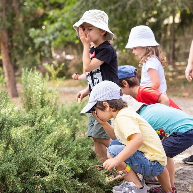 children playing serralves park porto