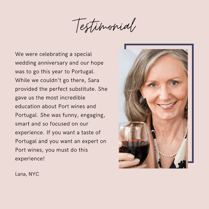 testimonial virtual wine class