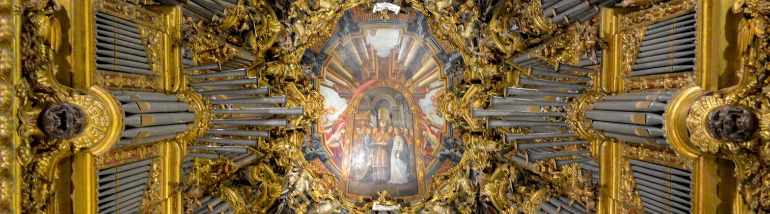 upper choir cathedral braga portugal