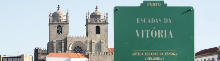escadas sinagoga porto