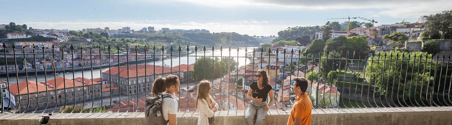 vista mirante virtudes tour judaico porto