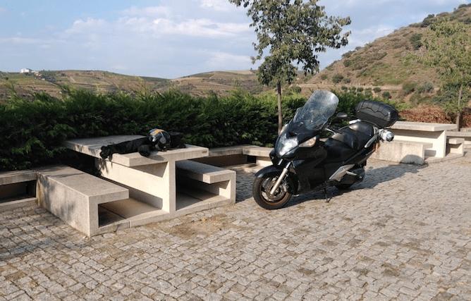 bike picnic tables