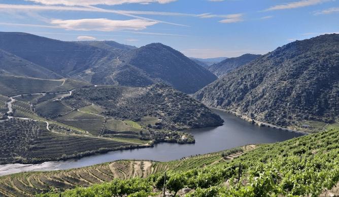 quinta vargellas view douro river