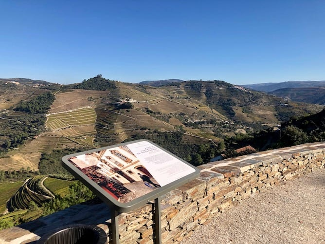 viewpoint old road sabrosa douro valley